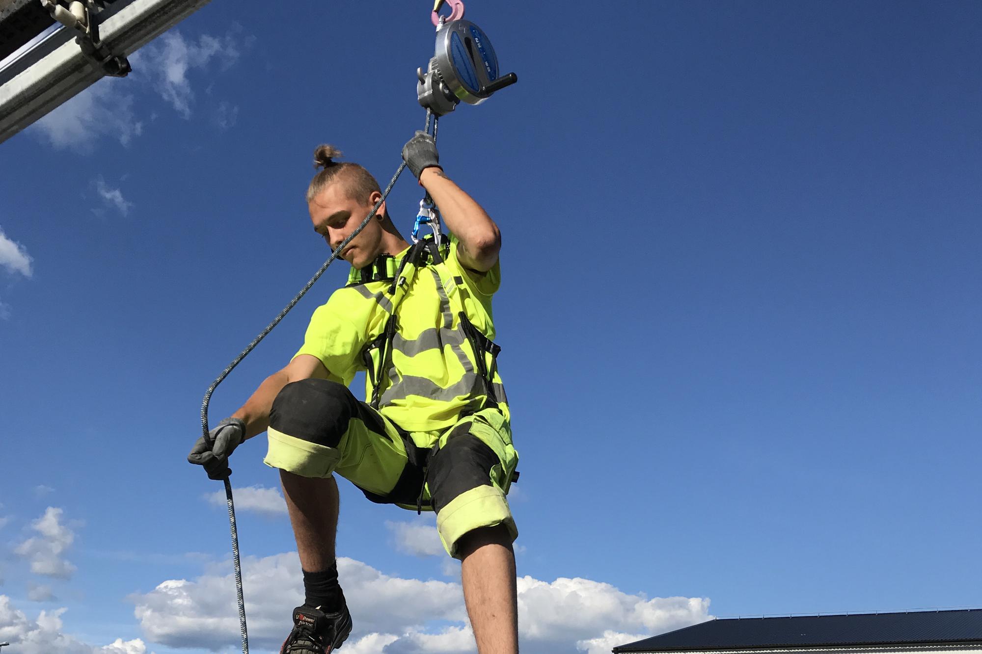 Vad säger lagen om fallskydd?